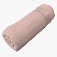 baby blankets 03 02 3d model