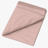 baby blankets 03 04 3d model