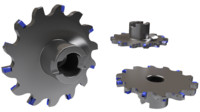 3d radius milling model