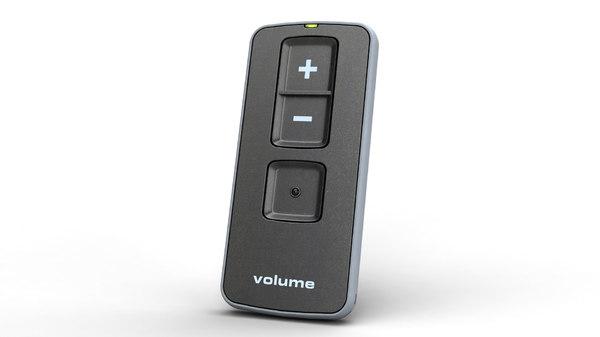 3d volume remote control