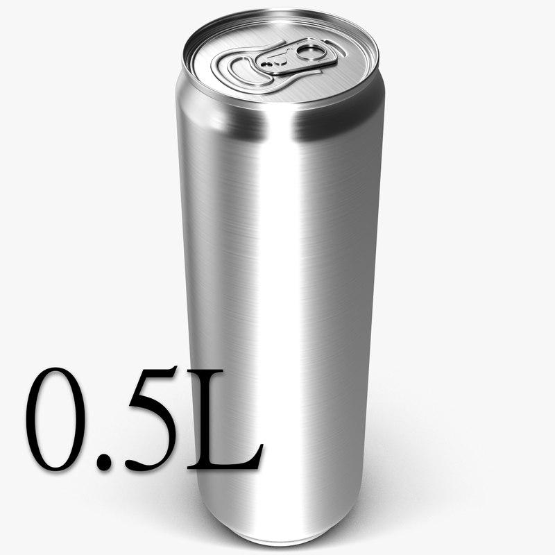 3d model beverage 0 5