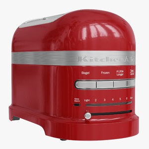 realistic kitchen aid toaster 3ds