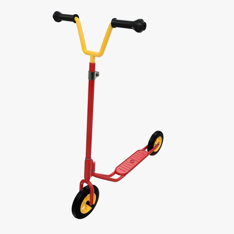 3d kick scooter