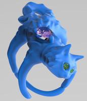 3d ring cat