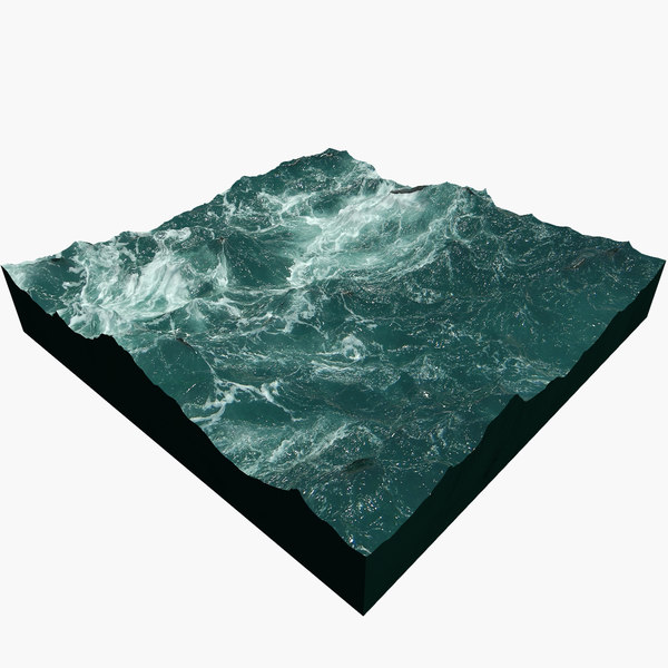 ocean plan surface c4d