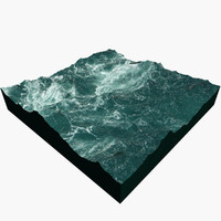 ocean plan surface c4d