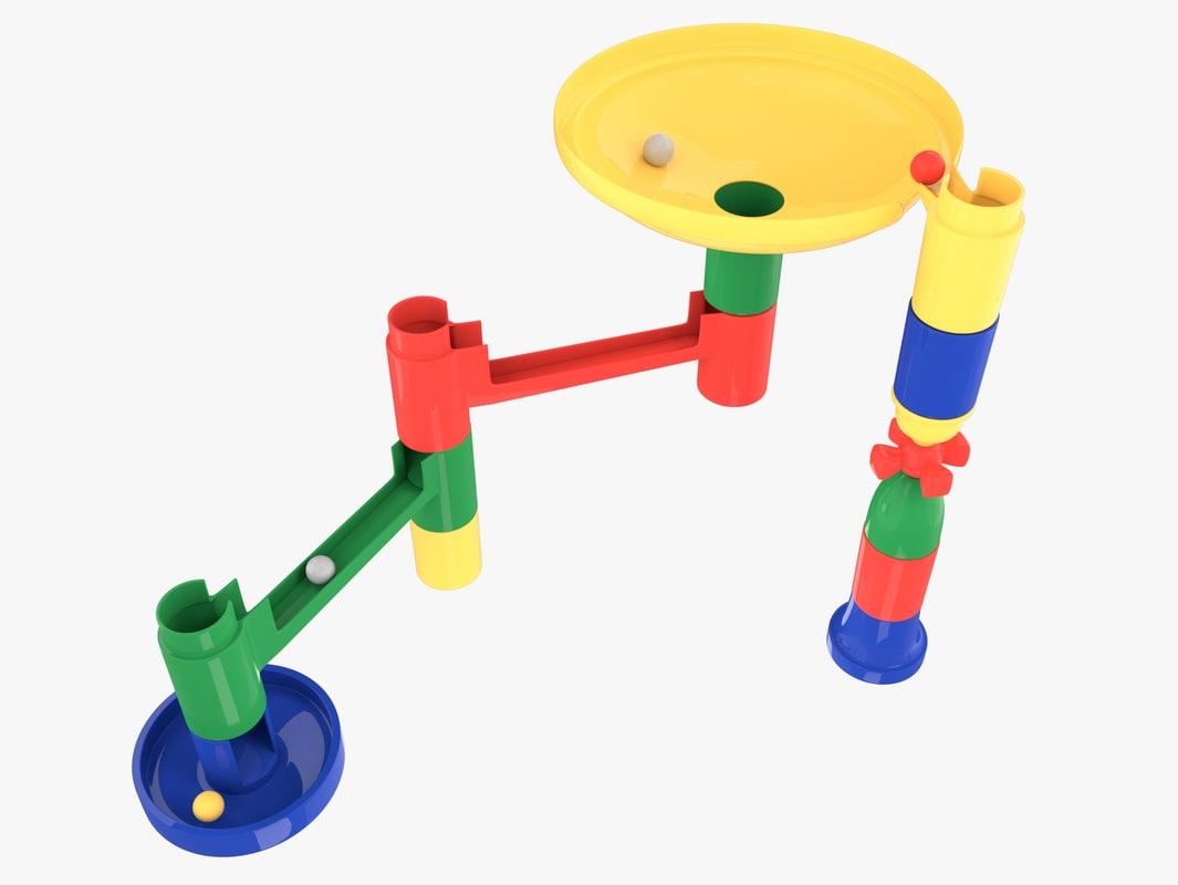 marble toys 3d model
