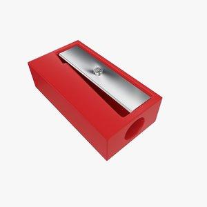 sharpener 3d model
