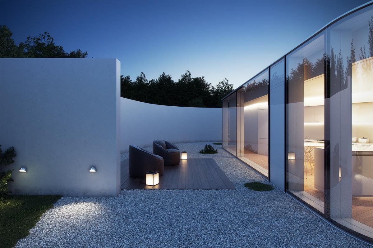 lake lugano house 3d model