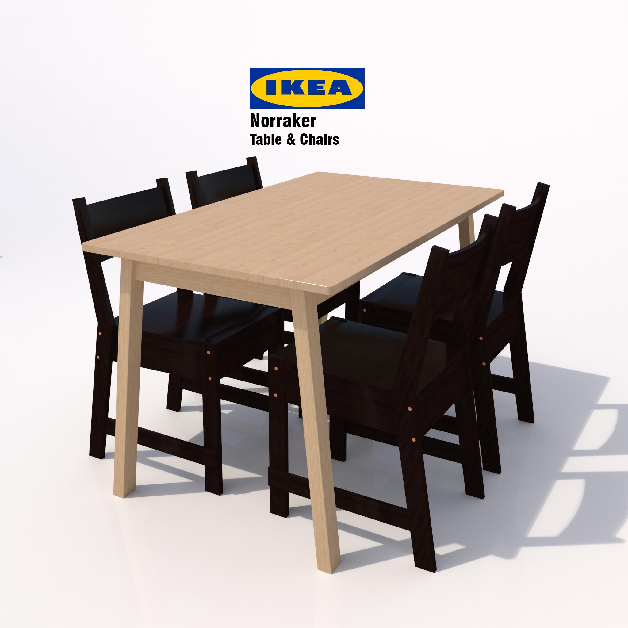 Ikea Norraker Dining Set 02b