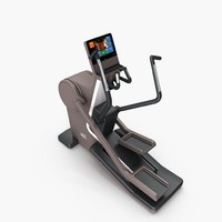 gym synchro cardio artis 3d model