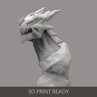free dragon 3d model