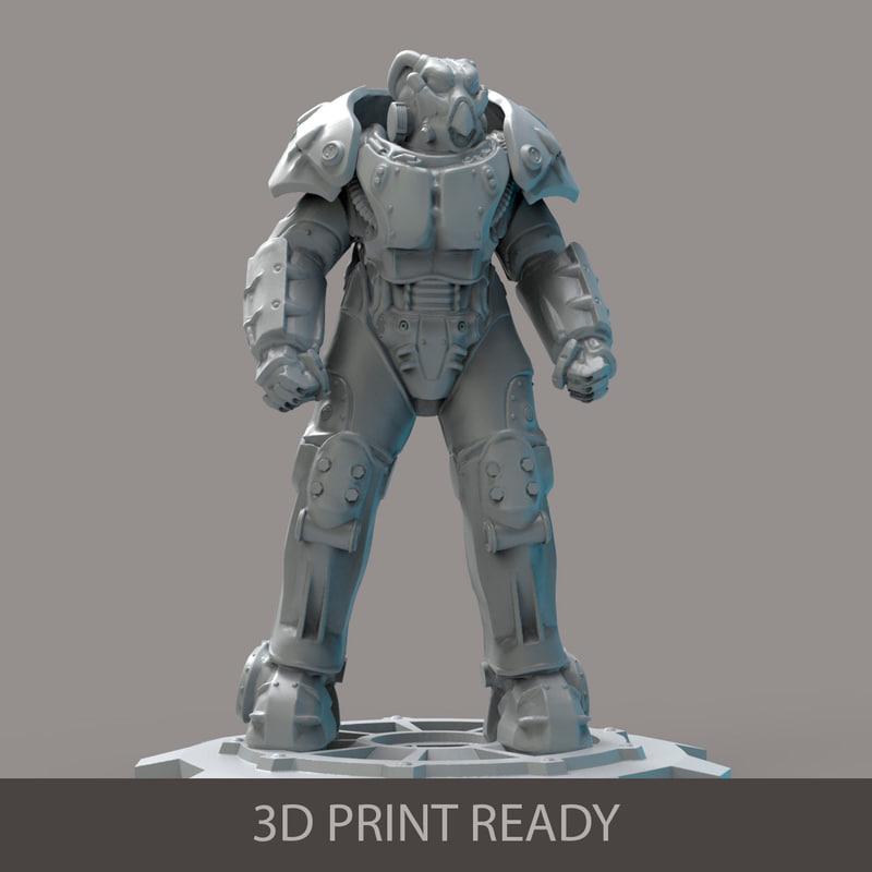 power armor 3d max
