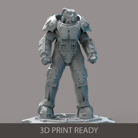 power armor 3d max