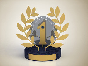 free award place 3d model