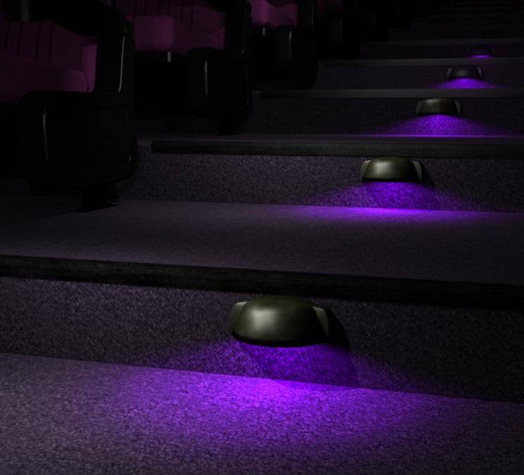 3d stair walkway light model