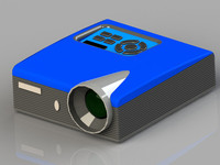 projector multimedia 3d model