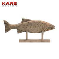 Kare Design Figurine Pesce Nature