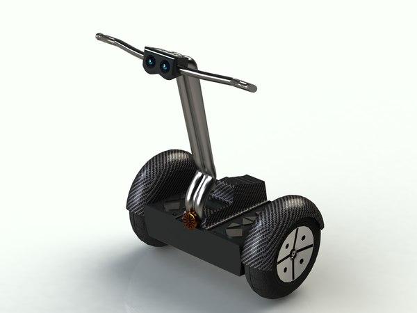 3d segway vehicle