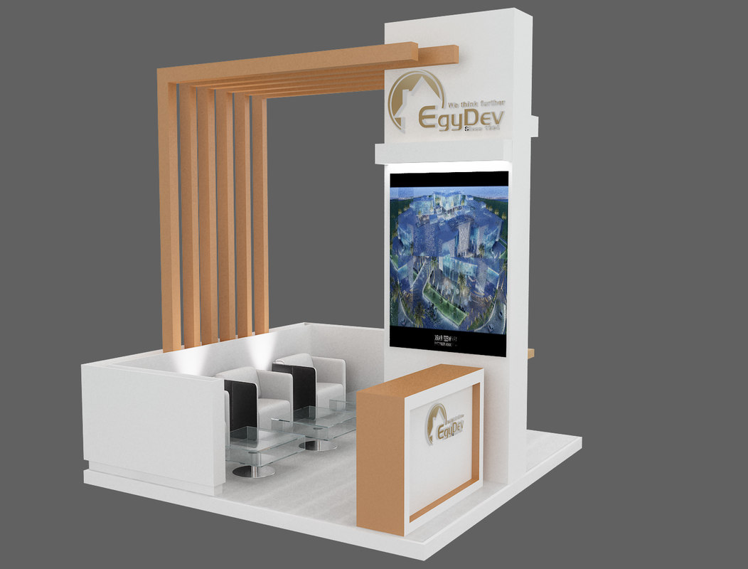 D Modelling Of Exhibition Stands : D stand exhibition booth model