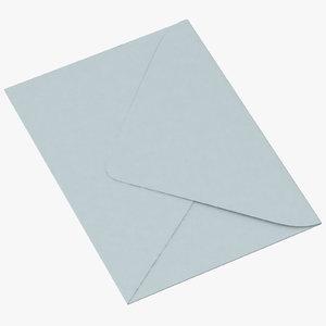 3d baby shower envelope closed