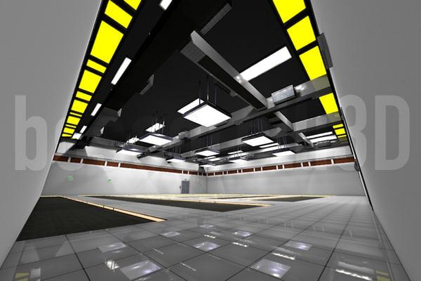 3d model scene ready render room