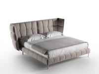 husk bed 3d model