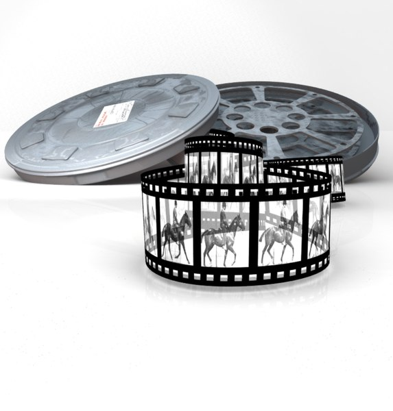 3ds filmcan filmstrip