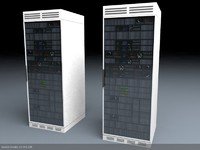 3d games rack server unit