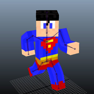 minecraft character x
