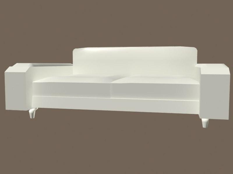 typical sofa 3d model