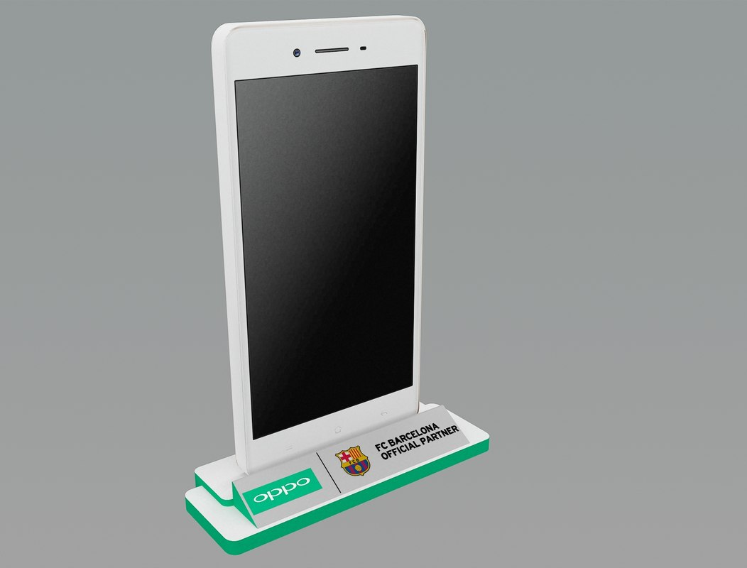 3d stand mobile model