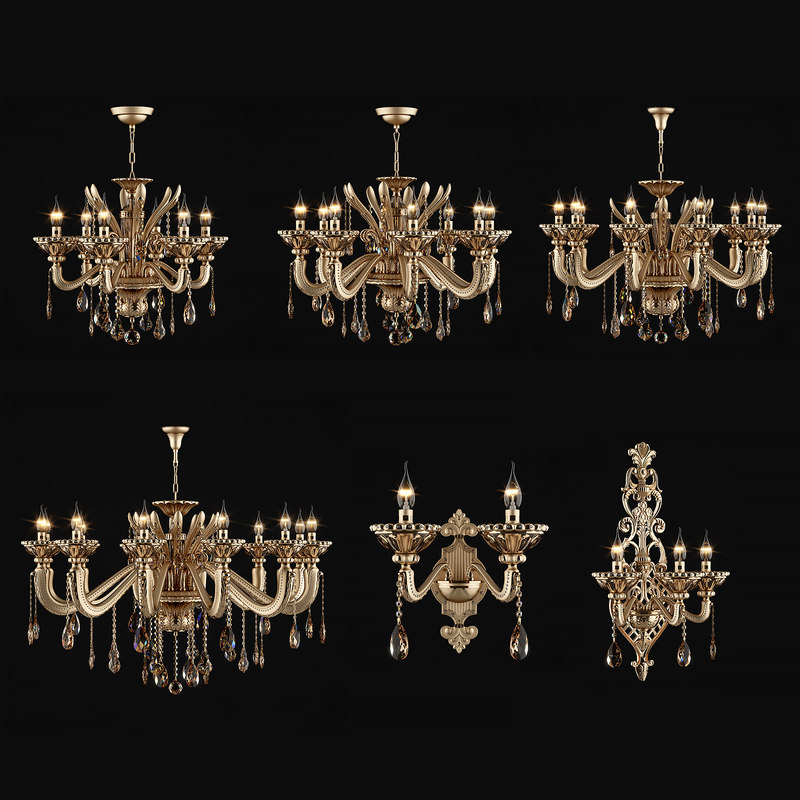 3d max chandelier alzata osgona
