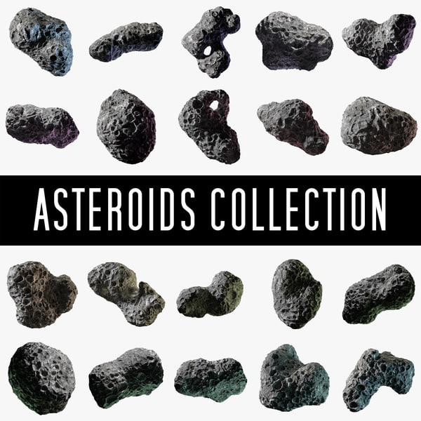 3d model asteroids