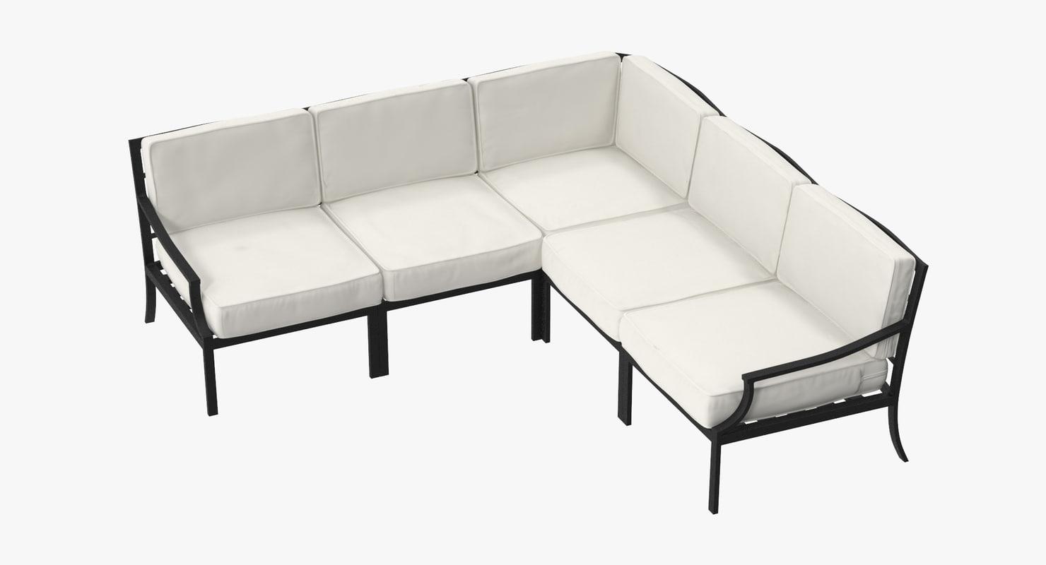 3d model of patio 02