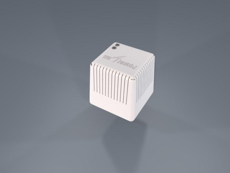 3d model powerline adapter