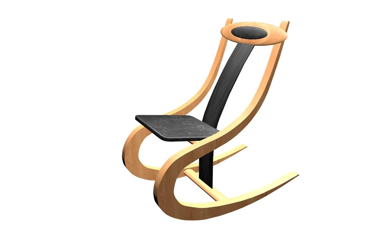 furnishings chair 3d model