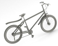 racing bicycle 3d c4d