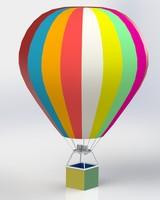 balloon 3d c4d