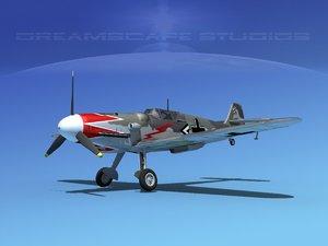 messerschmitt bf-109 fighter lwo