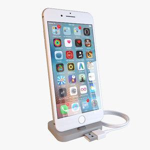 apple iphone 7 3d 3ds