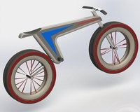 bicycle electric 3d model