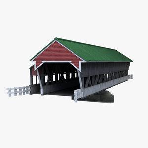 obj covered bridge