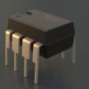 DIP Socket 3D models