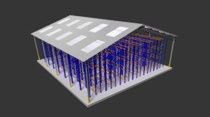 3d warehouse shelves stl