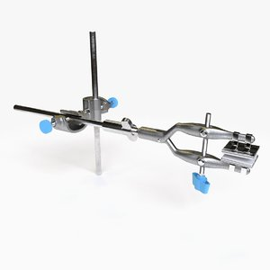 universal clamp 3d obj