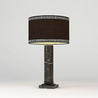 3d model eichholtz table lamp laurel