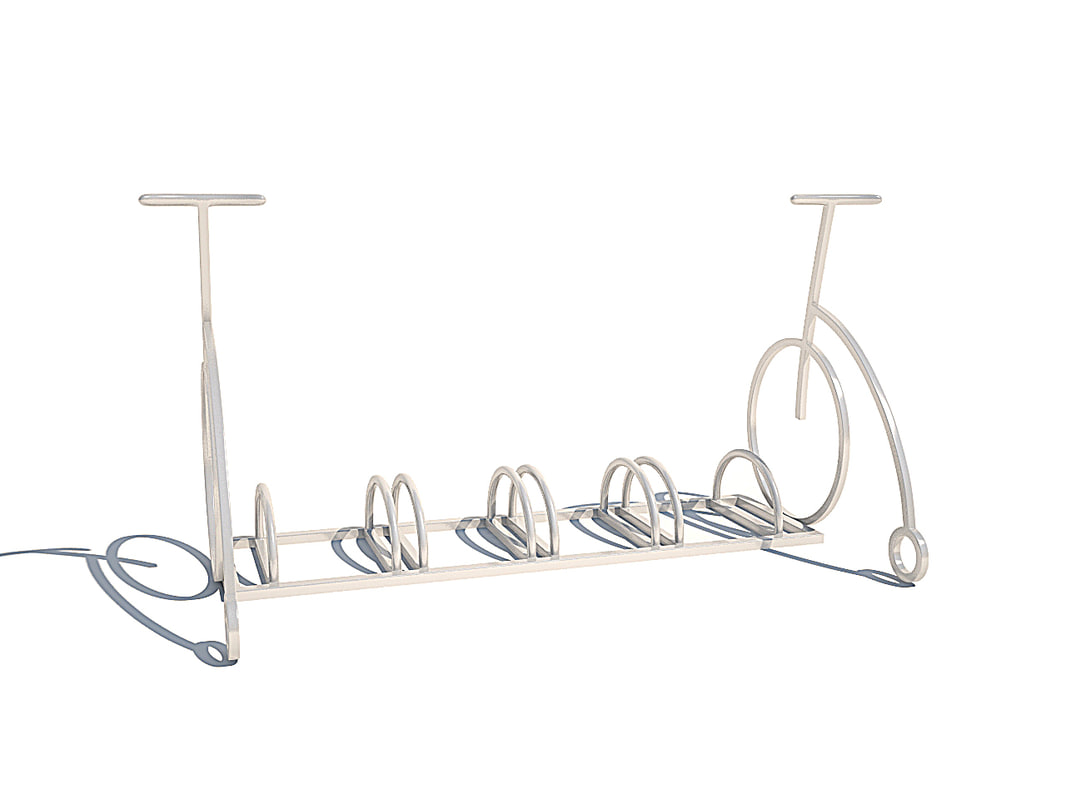 3d bicycle parking