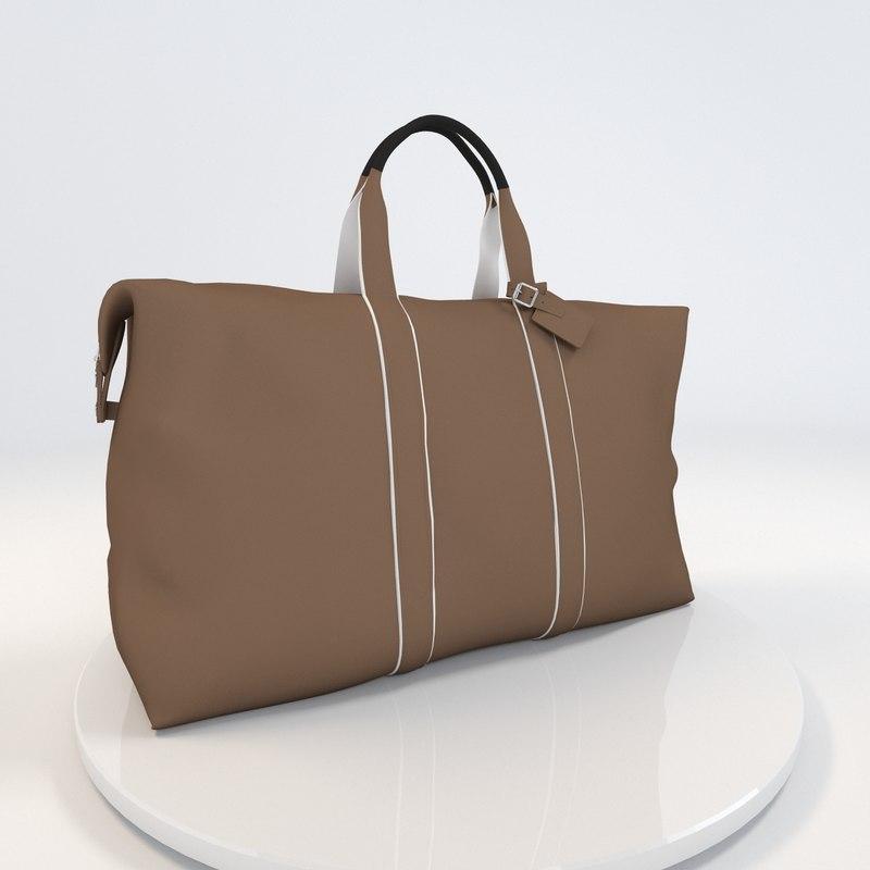 3d model bag