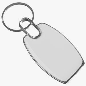 3d model keyring ring keys